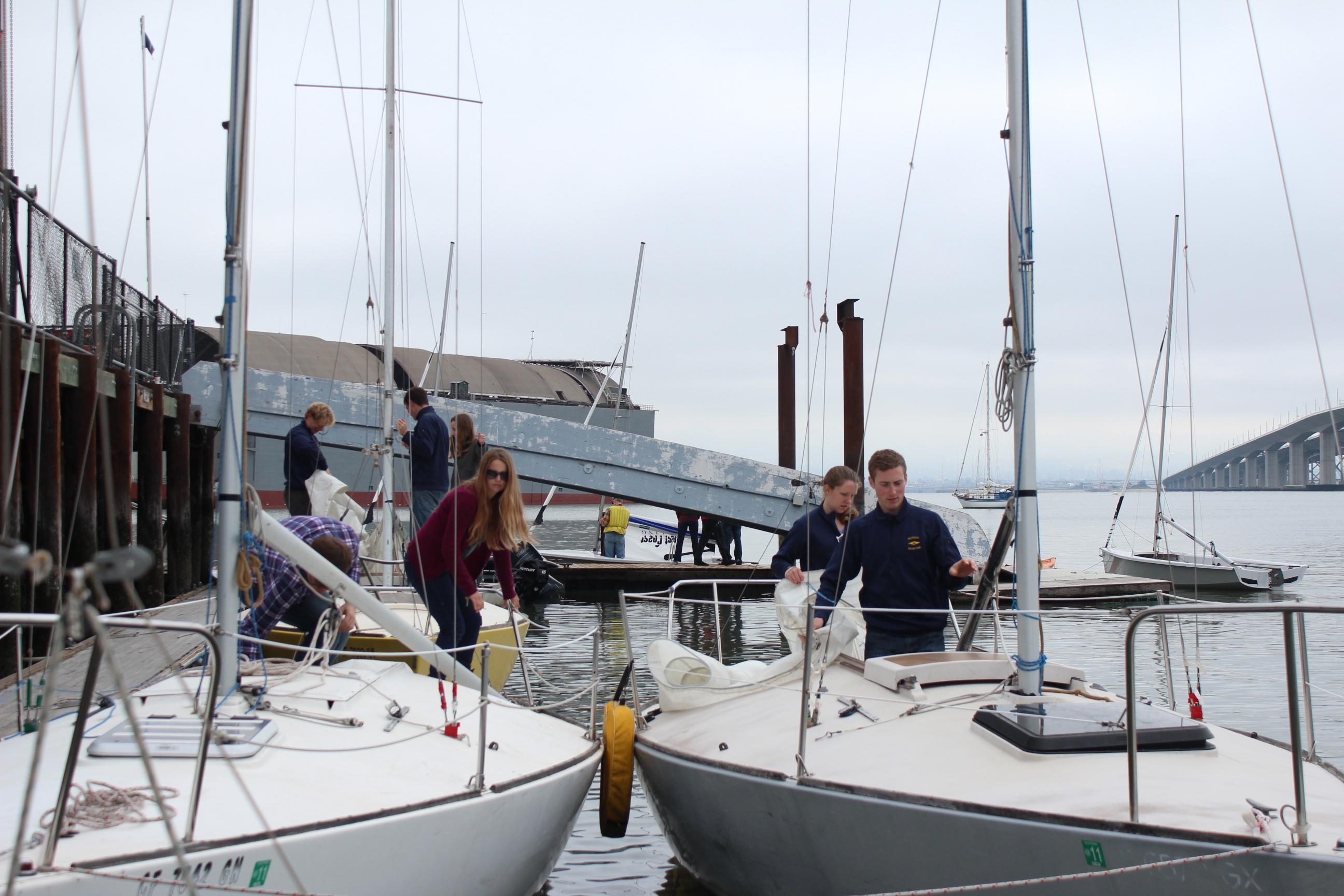Cal Sailing Rigging J24s
