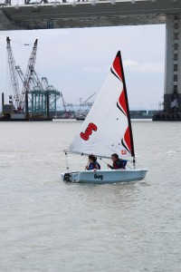 double handed sailing