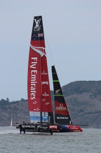 New Zealand Starts Foiling