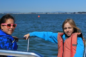 Isabelle and Jorge aboard Dauntless