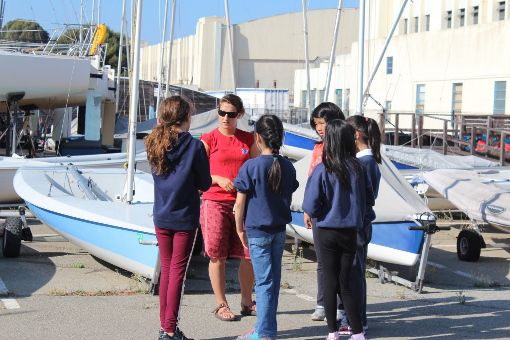 Meg learning names and introducing her small crew to TISC
