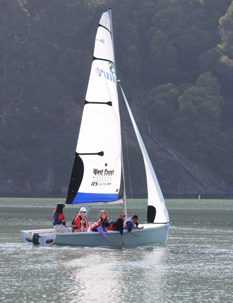 """On the water at TISC's SSLearn program means REALLY """"on the water"""""""