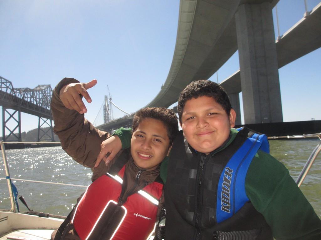 Friends Under New Bay Bridge