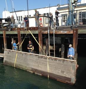 dock in