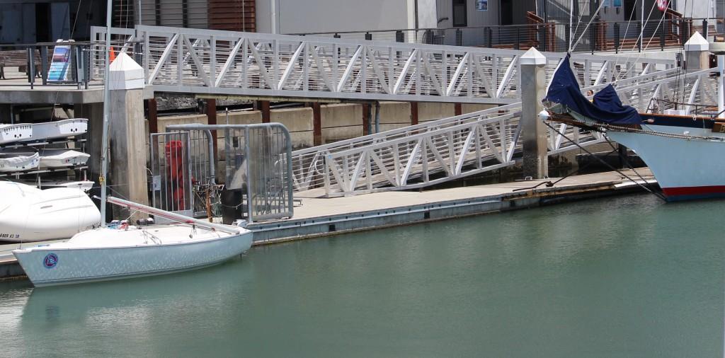 Pier 40 ramp