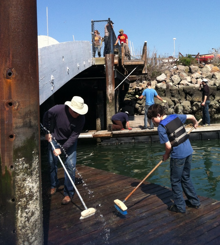 Dock Cleaning Team