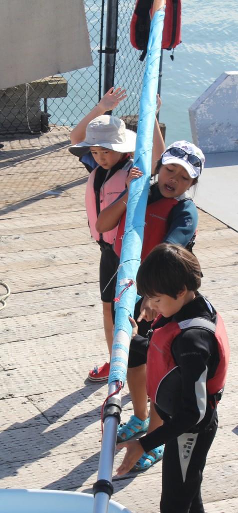 Mast Stepping Team