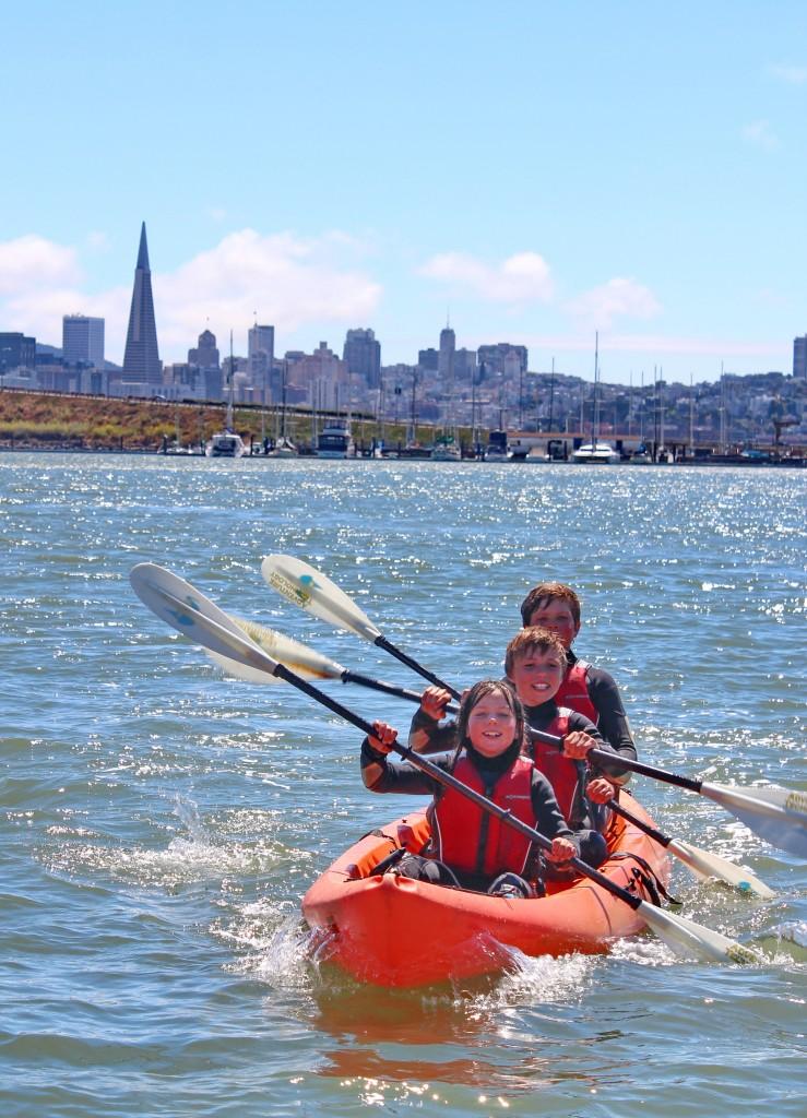 Teamwork on Kayak