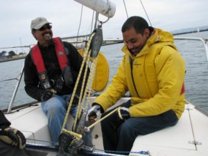 visually impaired sailors